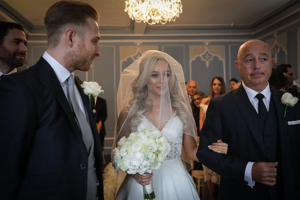 Wedding photography in Essex Bride Groom Dad