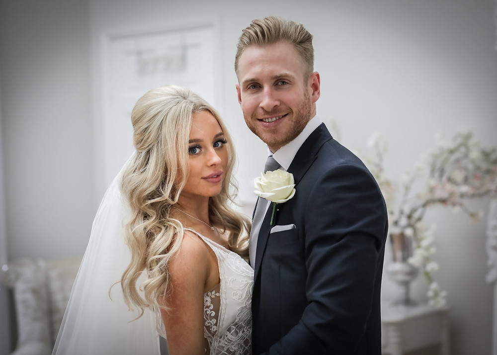 Wedding photographers in Essex Mr and Mrs