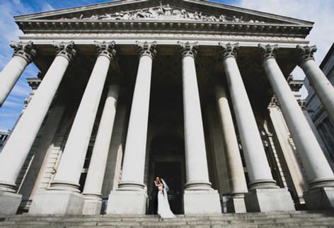 Royal Exchange Wedding photographer