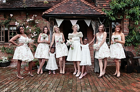 Beautiful Bridemaids