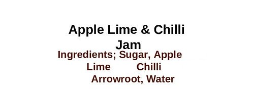 Apple, Lime & Chilli Jam