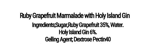 Ruby Grapefruit Marmalade with Holy Island Gin