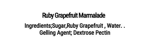 Ruby Grapefruit Marmalade