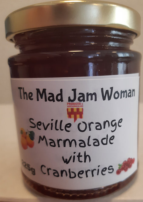 Seville Orange Marmalade with Cranberries