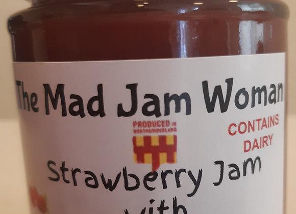 Strawberry Jam with Ruby White Chocolate