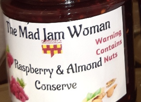 Raspberry&Almond Conserve