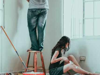 6 chyb, kterým se vyhnout při malování pokojů