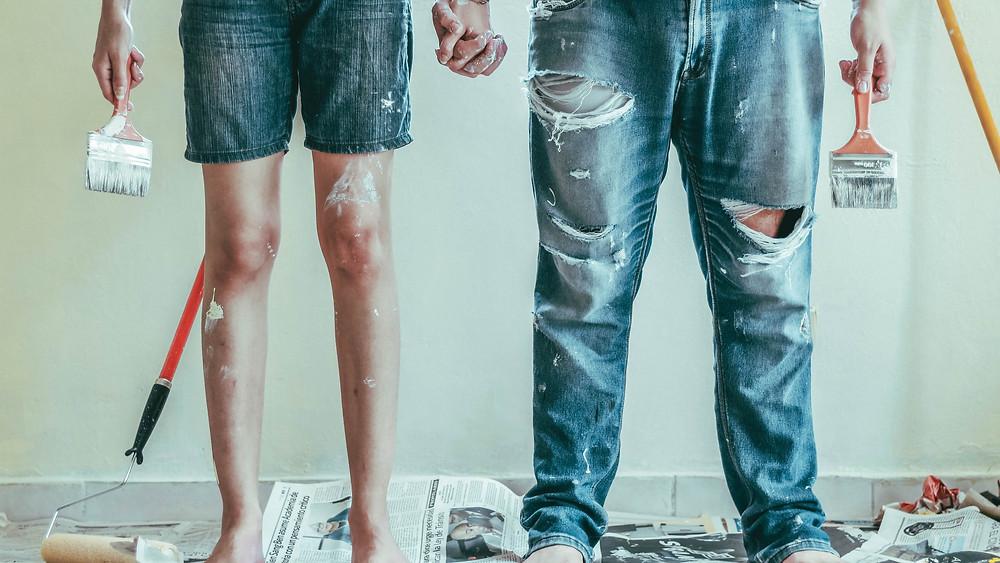 malování svépomocí