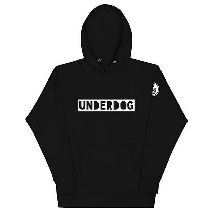 UNDERDOG White Unisex Hoodie