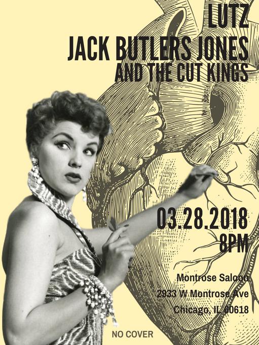 Lutz, Jack Butlers Jones and The Cut Kin