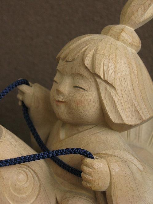 木彫「わらべ」