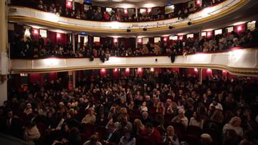 Conférence de Charles Pépin au Théâtre Antoine sur La Rencontre