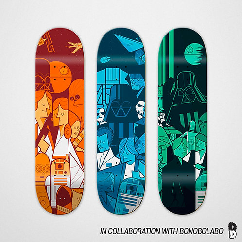 TRILOGY skateboard limited ed.