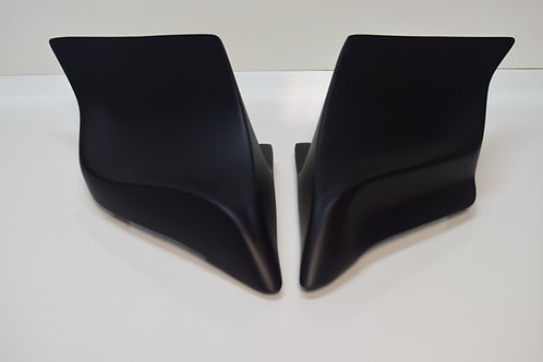 Stretched Extended Harley Side Covers for 1997-2007 Dual Exhaust