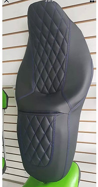 Street Glide HARLEY Seat Cover Blue Stitching P52320-11, 2008-18 COVER ONLY