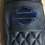 Thumbnail: HARLEY Street Glide Seat Cover P52320-11 Blue Logo Stitch 2008-18 COVER ONLY