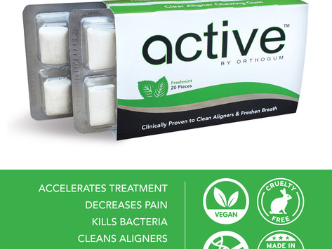 Active by OrthoGum hits the orthodontic world!