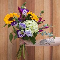 buque de flores pequeno