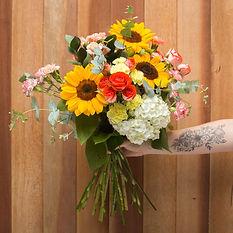 buque de flores medio
