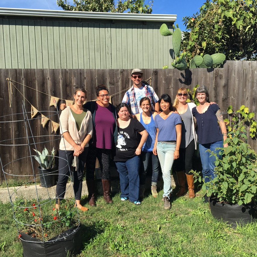 The Pine House Edible Garden Crew