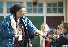 Ira at Venable School Festival of the bo