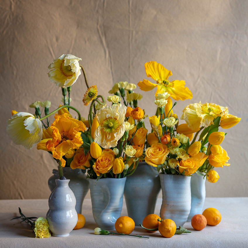 """Yellow is the color...from """"Frances Palmer: Life in the Studio, Inspiration and Lessons on Creativity"""" (Artisan Press, Oct 6, 2020), all rights reserved."""