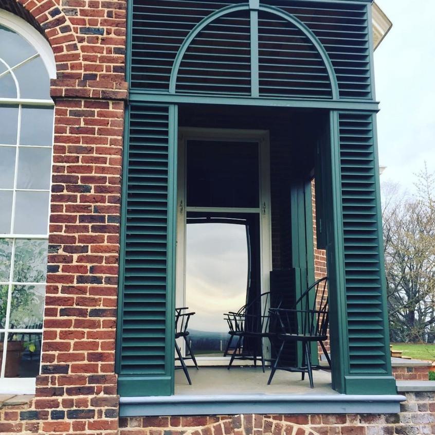 Palladian details at Monticello