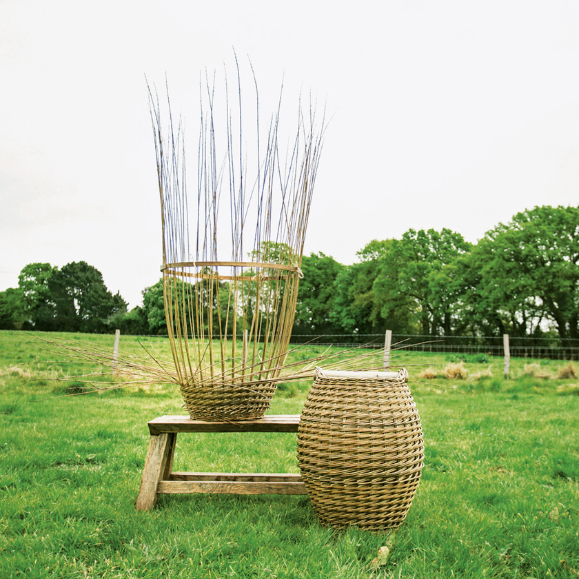 Basket by Annemarie O'Sullivan Excerpted from Making a Life by Melanie Falick (Artisan Books). Copyright © 2019. Photographs by Rinne Allen.