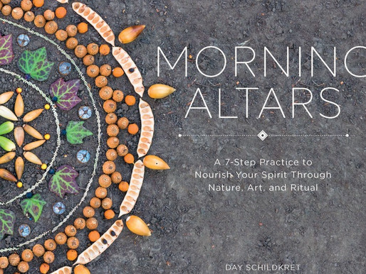 THE GARDEN & NATURE AS GRATITUDE PRACTICE with MORNING ALTAR'S DAY SCHILDKRET