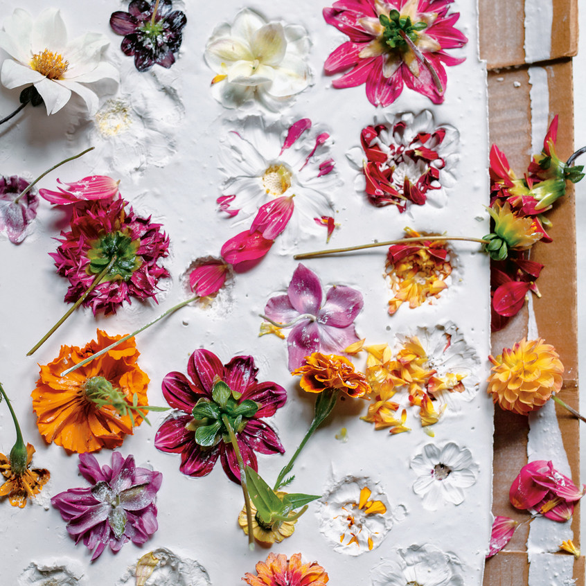 """Floral Inspiration - from """"Frances Palmer: Life in the Studio, Inspiration and Lessons on Creativity"""" (Artisan Press, Oct 6, 2020), all rights reserved."""