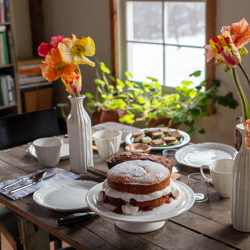 """Flowers for the table - from """"Frances Palmer: Life in the Studio, Inspiration and Lessons on Creativity"""" (Artisan Press, Oct 6, 2020), all rights reserved."""