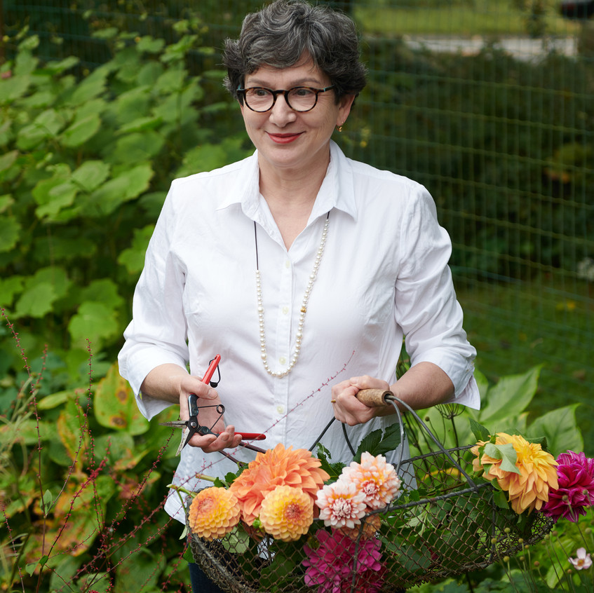 """Frances In the Garden - from """"Frances Palmer: Life in the Studio, Inspiration and Lessons on Creativity"""" (Artisan Press, Oct 6, 2020), all rights reserved."""