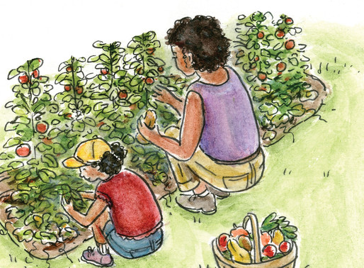 BACK TO SCHOOL SPECIAL: THE LITTLE GARDENER, with JULIE CERNY