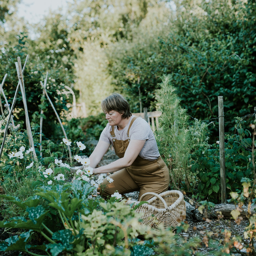 Camilla in the Garden - Scenes from Sigridsminde - Images all by Camilla Jorvad. All Rights reserved.