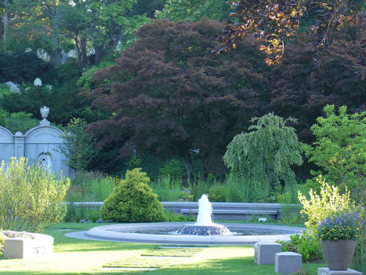 NO GHOSTS BUT A GOOD GARDEN: MT. AUBURN CEMETERY & THEIR ASA GRAY GARDEN