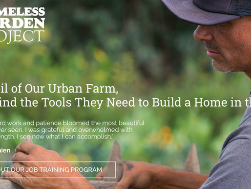 TOOLS FOR BUILDING A HOME (& GARDEN) IN THE WORLD: HOMELESS GARDEN PROJECT, SANTA CRUZ