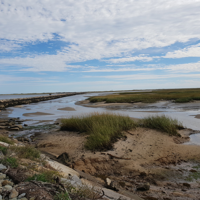 Coastal waterway - Kathryn Aalto - scenes from the trail, courtesy of the author, all rights reserved.