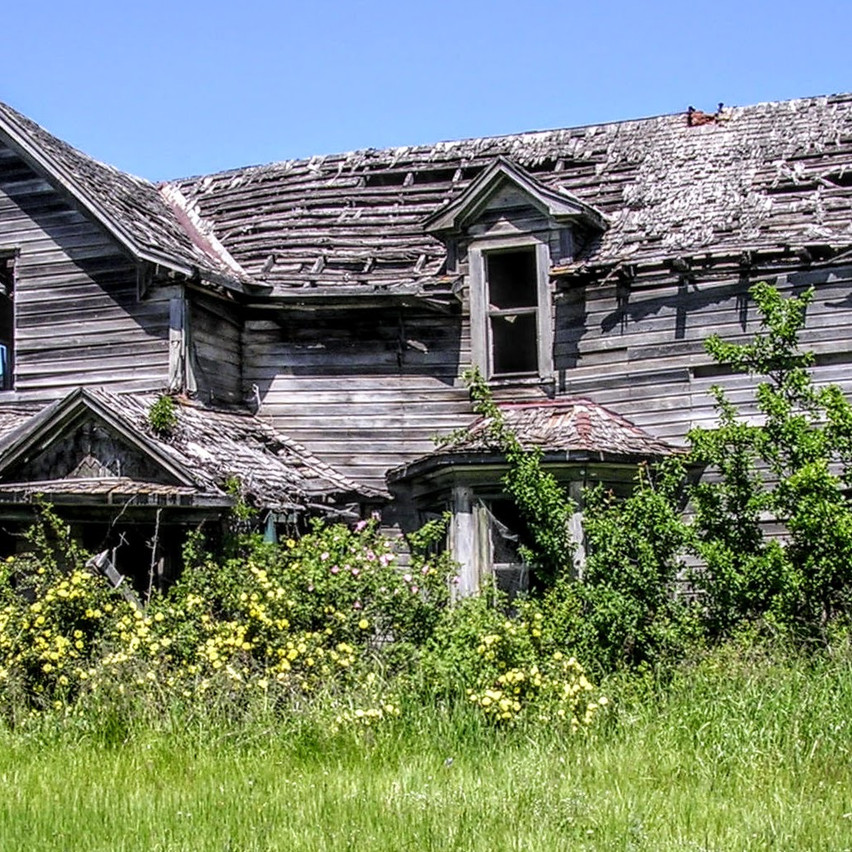 Old House In Peck
