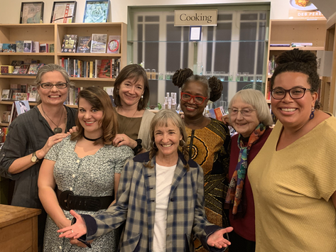 WOMEN'S HISTORY MONTH - THE EARTH IN OUR HANDS: MARCH 2020 A VIEW FROM HERE