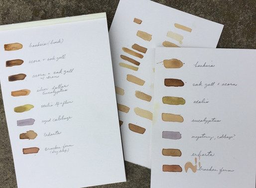 ART IN THE GARDEN: LAND-BASED INKS AND PAINTS with IRANIAN-AMERICAN ARTIST MELODY OVERSTREET