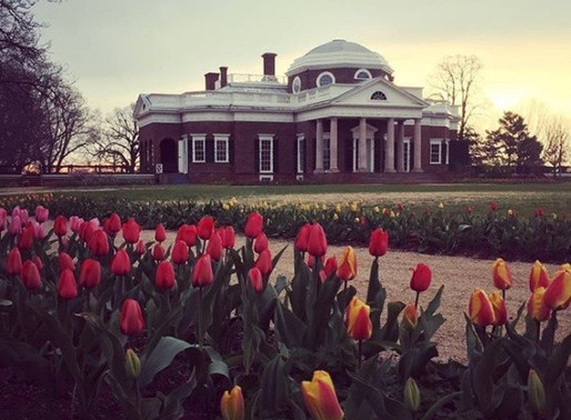 THE GARDENS AT MONTICELLO, with PEGGY CORNETT & ELEANOR GOULD