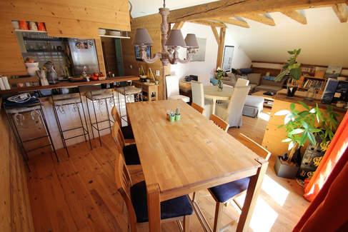 Salle à manger cuisine ouverte