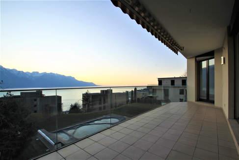 Vue lac terrasse