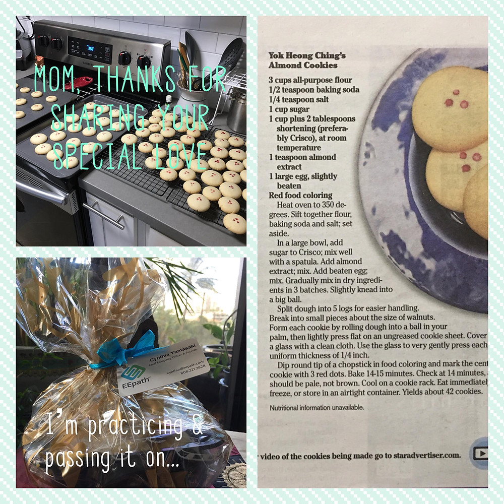 Yok Heong (Billie) Ching's Almond Cookies