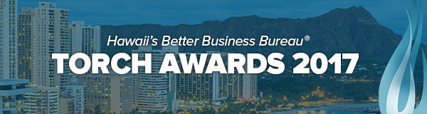 Register for BBB Hawaii Torch Awards 2017