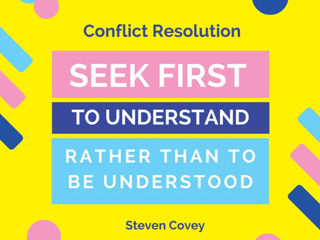 How To Resolve Conflict with 10 Steps to Peace