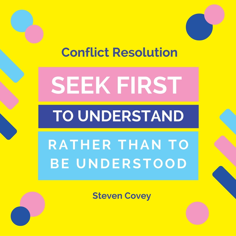Conflict Resolution Quote