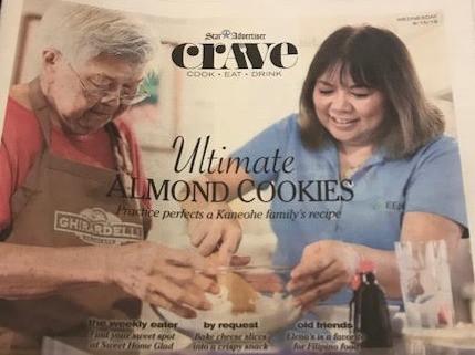 Billie Ching's Almond Cookies
