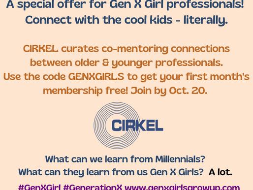 A Millennial/GenX-er/Boomer Mentoring Mash up!