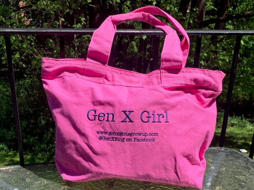 new! the gen x girl pink tote is in!